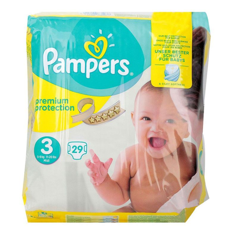 Pampers couches premium protection T3 x29