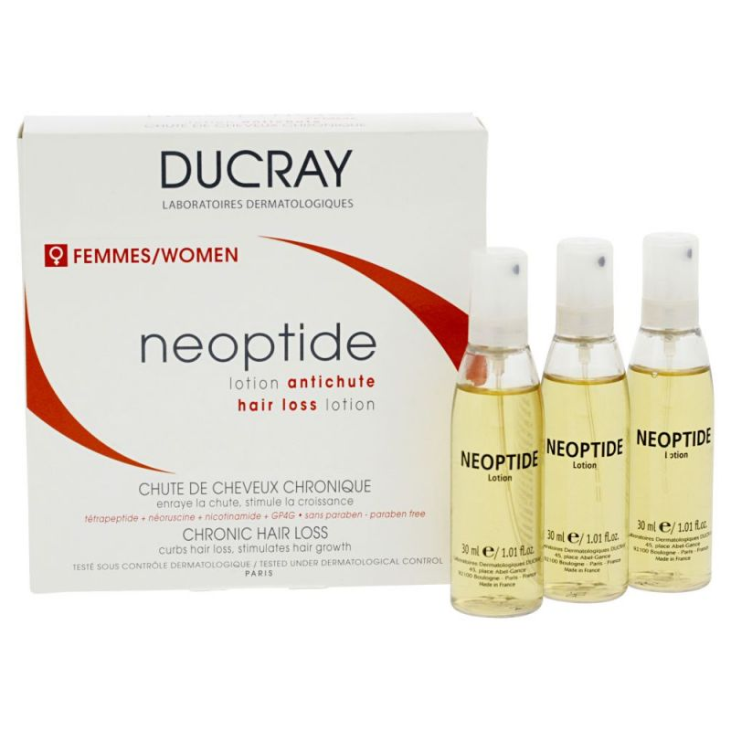 Ducray Neoptide lotion anti-chute Femme - 3x30ml