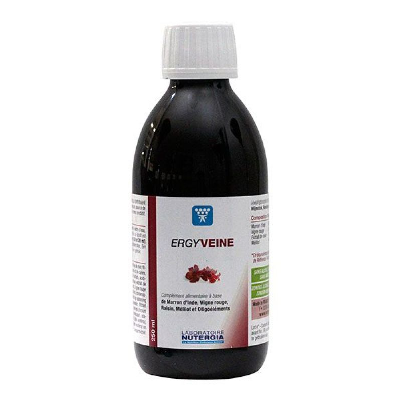 Ergyveine solution buvable flacon 250mL