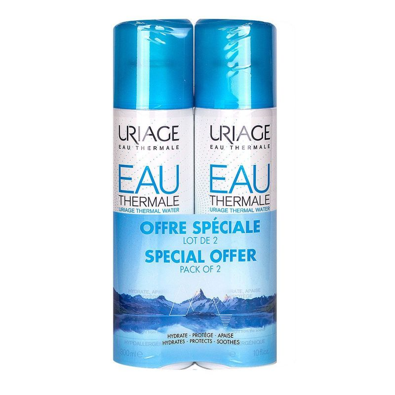 Uriage eau thermale spray 300mL x2