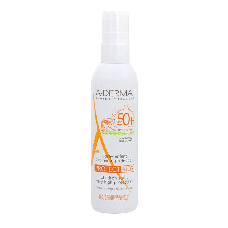 A-derma Protect spray solaire enfant SPF50+ 200mL