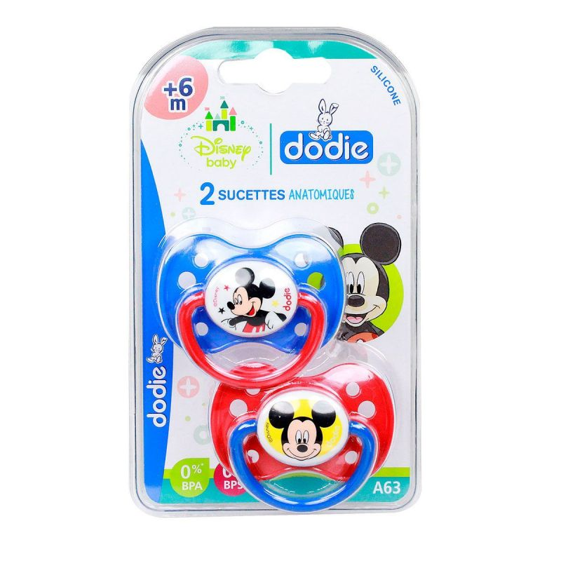 Dodie Sucette Anat +6m Mickey A63