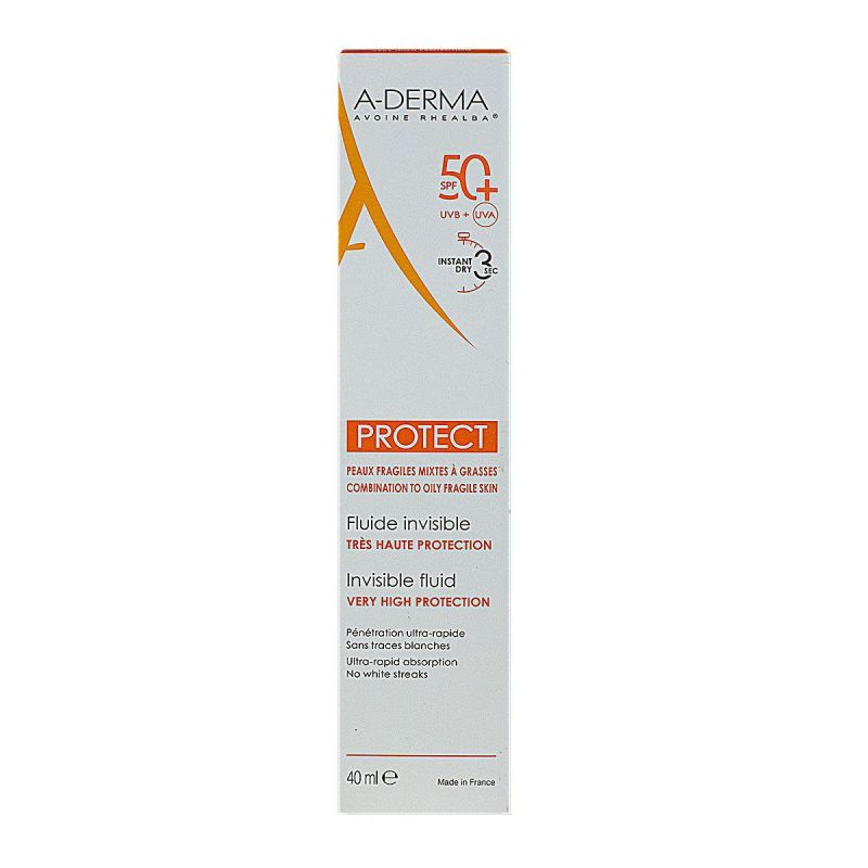 A-derma Protect Fluid Inv 50+