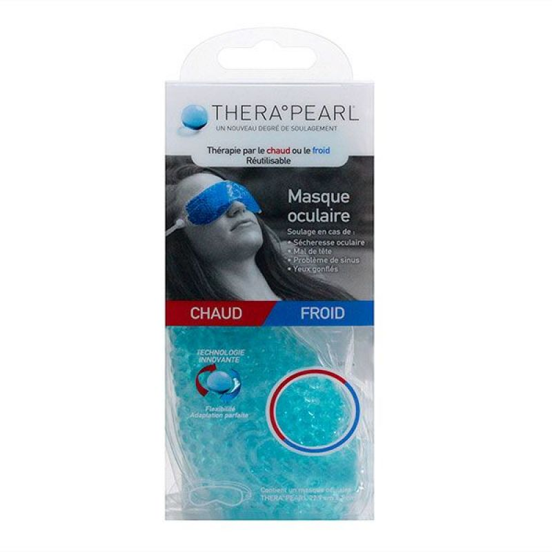 Thera Pearl Chaud/Froid - Compresse Masque Oculaire