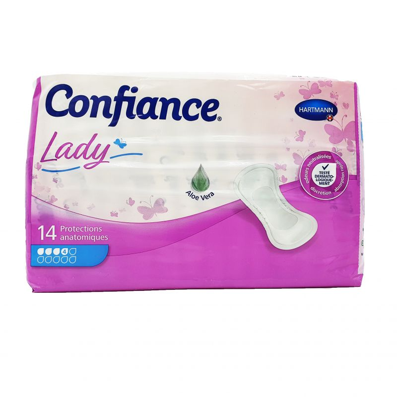 Confiance - Lady protections absorbantes 4/10