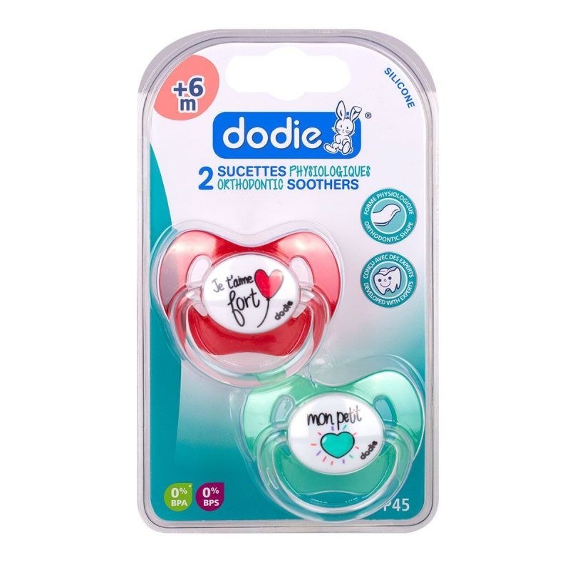 Dodie Sucette +6m Phy Coeur P45 X2