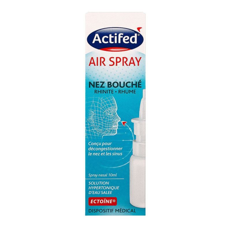 Actifed air spray nez bouché 10mL