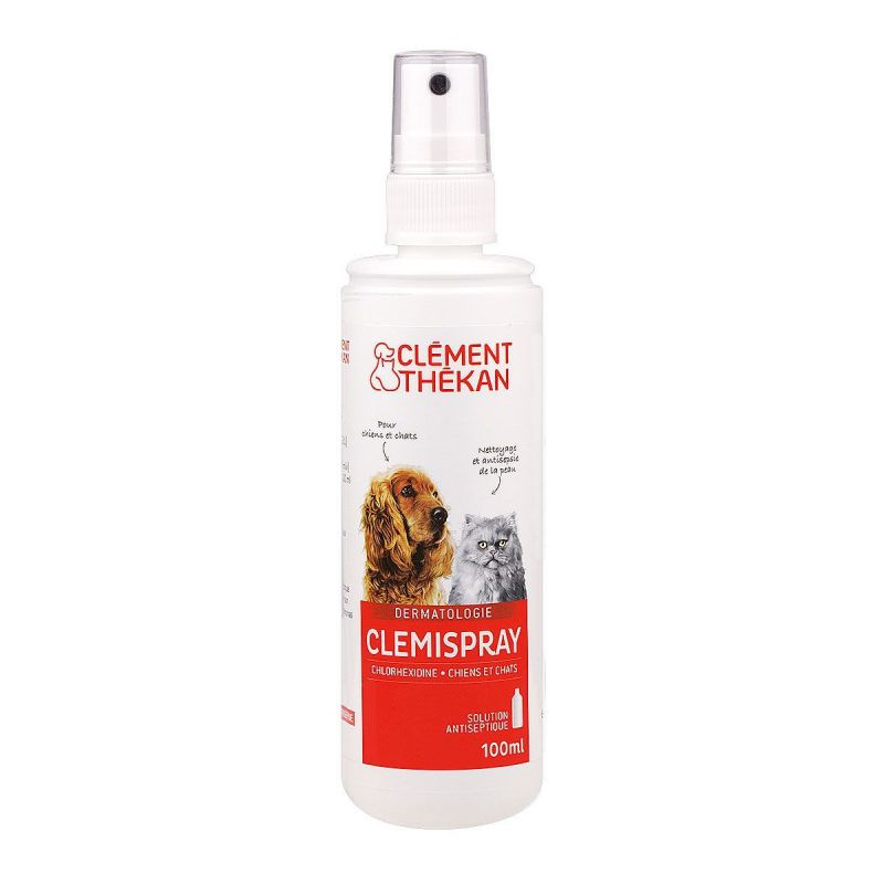 Clément Thekan - Clemispray solution antiseptique 100mL