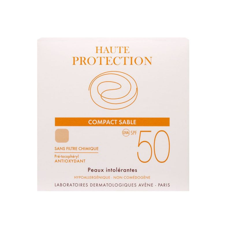 Avene-solaire Compact SPF50 Sable 10g