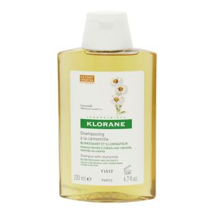 Klorane - Shampooing camomille blondissant 200mL