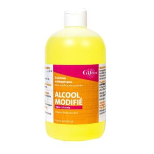 Alcool Modifie 70 Gifrer 500ml