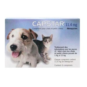 Capstar 11,4mg Cpr 6