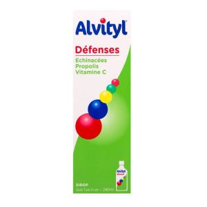 Alvityl Défenses - Sirop flacon 240mL