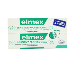 Elmex - Dentifrice sensitive professional 2x75mL