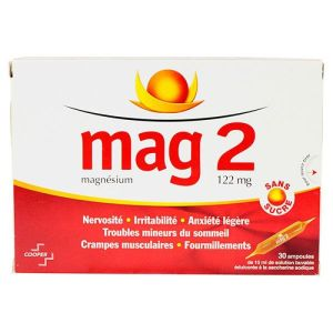 Mag 2 122mg/10ml - 30 Ampoules Buvables