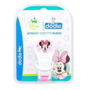 Dodie Attache Sucette Ruban Minnie