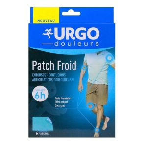 Urgo Patch Froid - 6 patchs