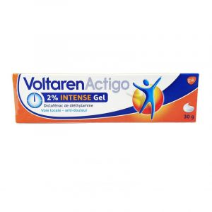 Voltarenactigo Intense 2% gel tube 30g