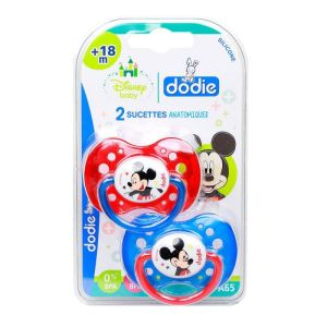 Dodie Sucette Anatomique +18m Mickey A65