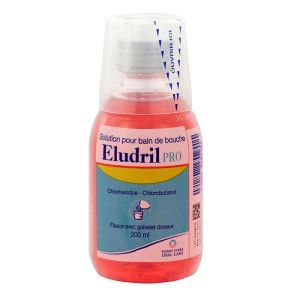 Eludril Pro - Solution bain de bouche 200mL