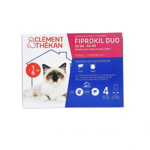 Fiprokil Duo Chat Pipettes 4 x 0,5mL