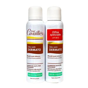 Cavailles Deodorant Spray Dermato 150mL x 2