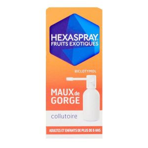 Hexaspray fruits exotiques collutoire 30g