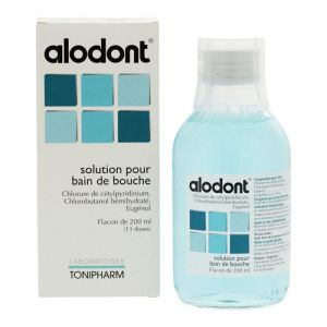 Alodont - Solution bain de bouche 200mL