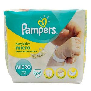 Pampers couches premium protection T0 x24