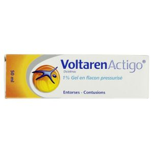 Voltarenactigo 1% gel flacon 50ml