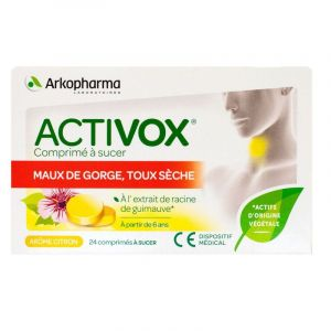 Activox Citron Cpr Sucer 24