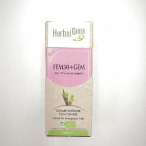 Herbalgem Fem50+gem Bio 30ml