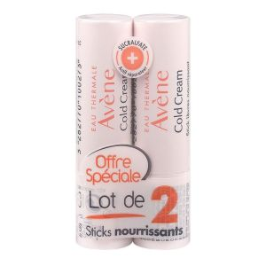 Avene Cold Cream Stick Levres lot de 2