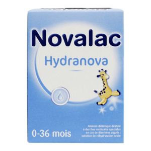 Novalac Hydranova solution de réhydratation 10x6,5g