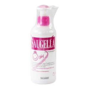 Saugella Girl émulsion lavante douce 200mL