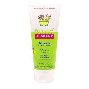 Klorane Junior - Gel douche poire 500mL