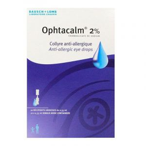 Ophtacalm 2% Col Unidose 0,35m