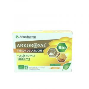 Arkoroyal Gelée Royal 1000mg Ampoules 20