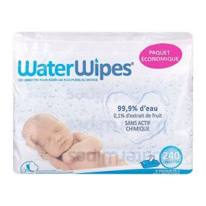 Water Wipes Linget Bb 100% 4x6