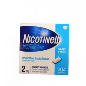 Nicotinell 2mg Gomme Menthe S/s
