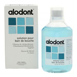 Alodont - Solution bain de bouche 500mL