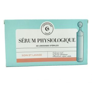 Giphar Serum Physiologique Unidose 40