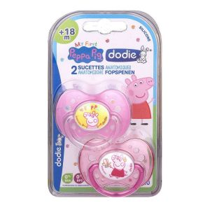 Dodie Sucette +18m Peppa Pig A80 X