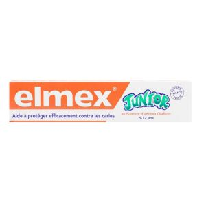 Elmex - Dentifrice junior 6-12 ans 75mL