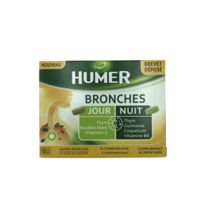 Humer Bronches jour nuit 10cps jour / 5cps nuit