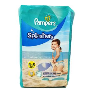 Pampers - couches piscine/mer Splashers T4