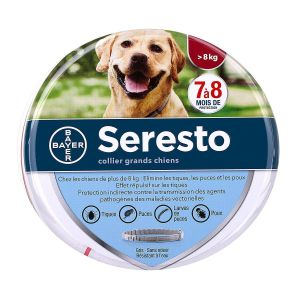 Collier Seresto anti-parasitaire Grand chien