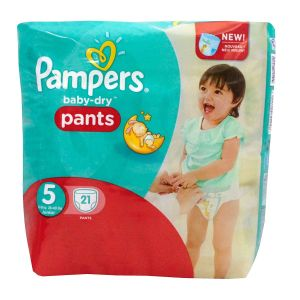 Pampers couches Baby-dry T5 x21