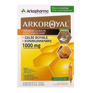 Arkoroyal Gelee Roy1000mg - 2* 20 ampoules