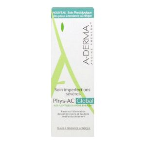 A-derma Phys-Ac soin global imperfections 40mL